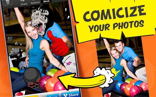 Photo Comics – Super Stickers