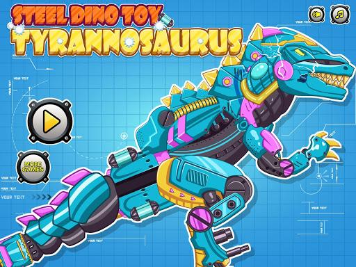 Steel Dino Toy : Tyrannosaurus